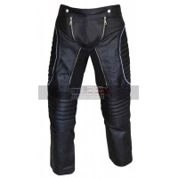 Iceman X-Men 3 Shawn Ashmore Costume Black Leather Pants