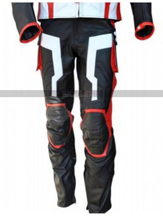 Captain America Avengers Age Of Ultron Costume Leather Pants