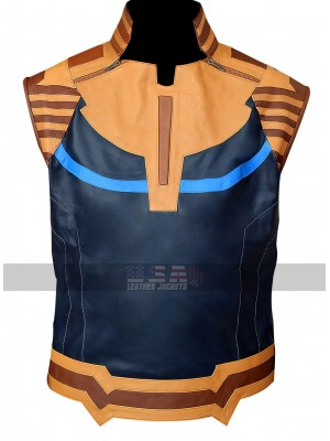 Avengers Infinity War Josh Brolin (Thanos) Costume Leather Vest
