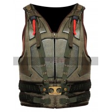 Batman Dark Knight Rises Cosplay Military Bane Faux Leather Vest