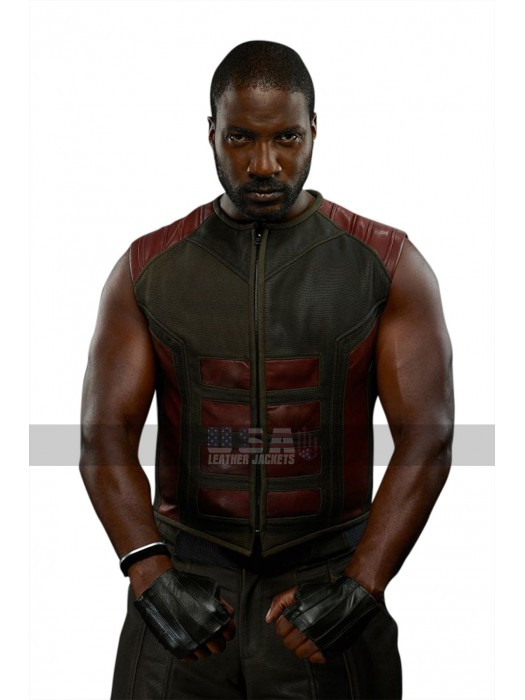 Inhumans Gorgon (Eme Ikwuakor) Leather Costume Vest