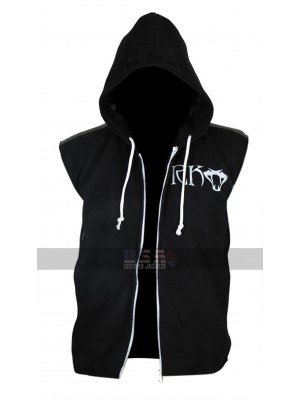 RKO WWE Randy Orton Hoodie Black Fleece vest