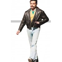 Freddie Mercury Bohemian Rhapsody Black Leather Jacket
