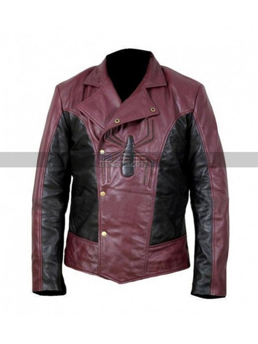 Spiderman Last Stand Peter Parker Cosplay Biker Leather Jacket
