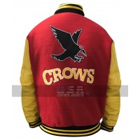 Crows Smallville Tom Welling Varsity Letterman Jacket