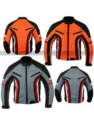 Mens Short Body Motorbike Motorcycle Wind Cotton Jacket