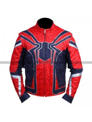 Avengers Infinity War Peter Parker Spider-Man Costume Jacket