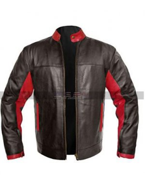 Batman The Dark Knight Costume Bruce Wayne Cosplay Christian Bale Leather Jacket
