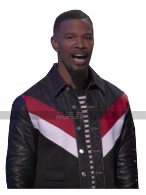 Beat Shazam Show Jamie Foxx Leather Jacket