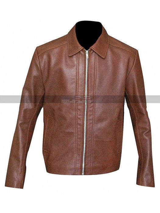 Keanu Reeves John Wick  Brown Leather Jacket