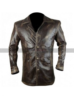 Supernatural Dean Winchester Stolen S7 Distressed Leather Jacket
