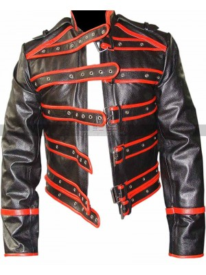 Black And Red Freddie Mercury Jacket