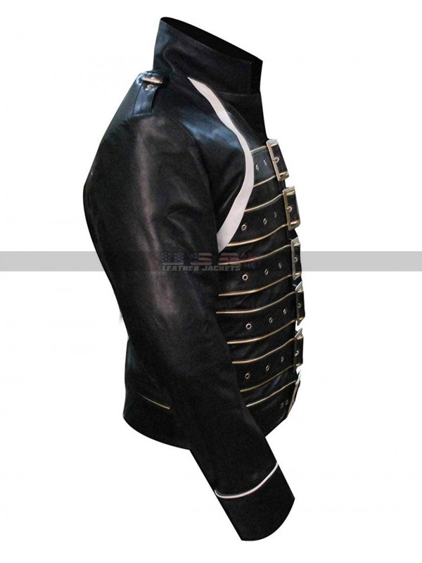 Freddie Mercury Black Leather Jacket