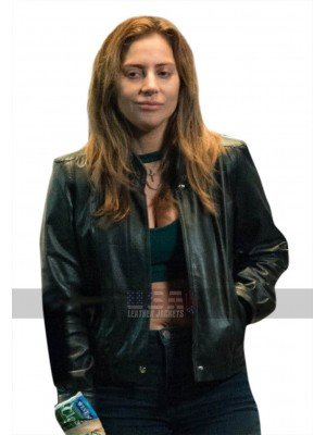 Lady Gaga A Star Is Born Ally Black Leather Jacket