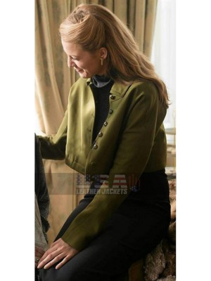 Blake Lively Age of Adaline Short Body Wool Jacket