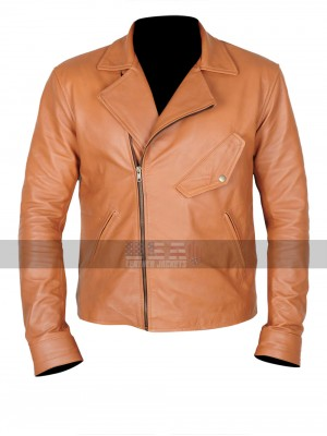 Beautiful Creatures Alden Ehrenreich (Ethan Wate) Brown Jacket
