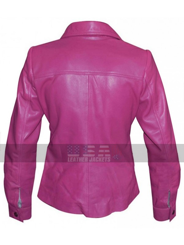 Alexandra Daddario Sea of Monsters (Annabeth Chase) Leather Jacket