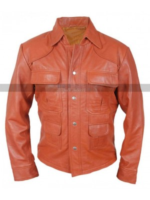 American Made Tom Cruise Played Leather Jacket
