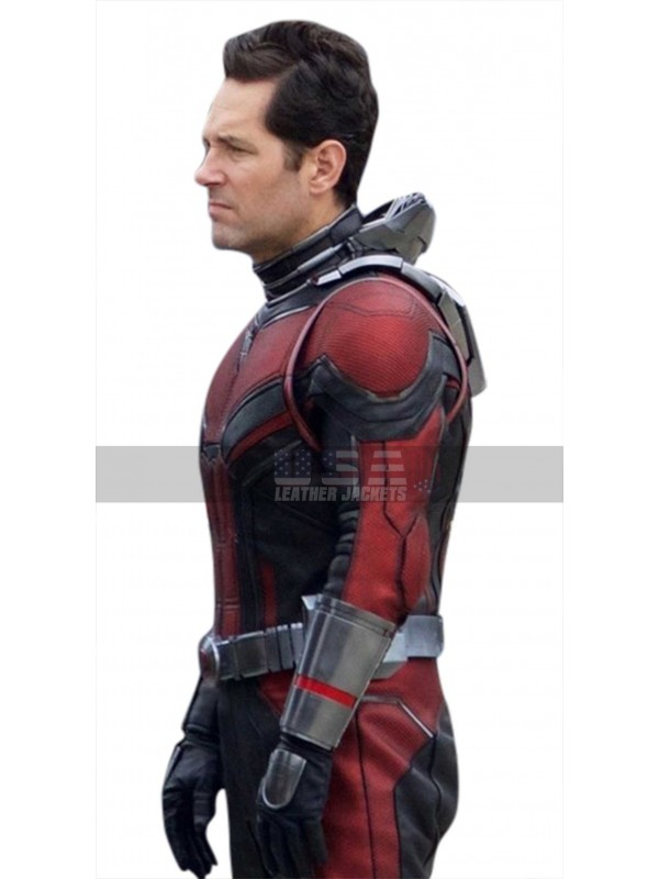 Ant Man and the Wasp Paul Rudd Costume Leather Jacket