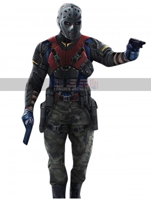 Arrow The Recruits Rene Ramirez (Wild Dog) Leather Costume Jacket