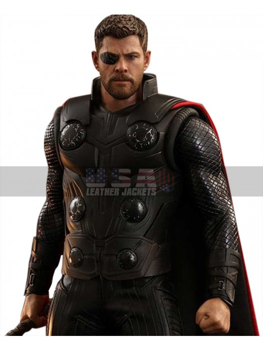 Avengers Infinity War Thor Costume Leather Vest