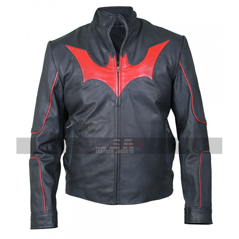 Batman Beyond Terry McGinnis (Will Friedle) Costume Leather Jacket