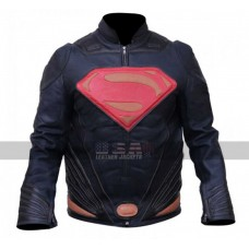 Batman Vs Superman Dawn of Justice Henry Cavill Costume Leather Jacket