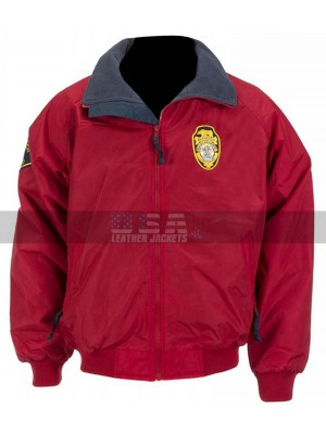 Baywatch David Hasselhoff Lifeguard Bomber Costume Jacket