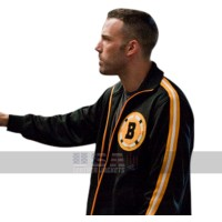 Ben Affleck The Town Boston Varsity Bomber Black Jacket