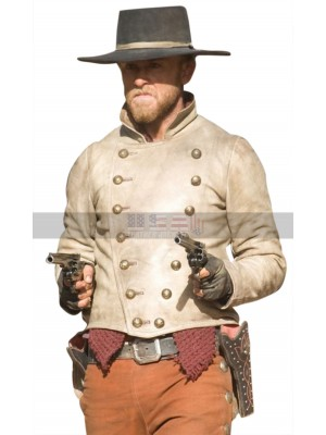 Charlie Prince 310 to Yuma Ben Foster Gothic Leather Jacket