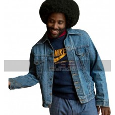 Blackkklansman John David Washington Blue Denim Jacket