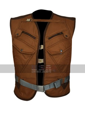 Captain America First Avenger Dum Dum Dugan Brown Cotton Vest
