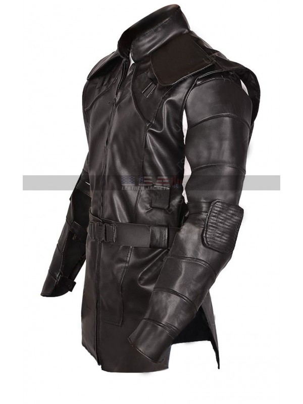 Avengers Endgame Hawkeye Jeremy Renne Cosplay Leather Jacket