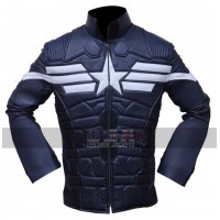 The Winter Soldier Cosplay Captain America Leather Jacket