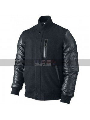 Creed Michael B Jordan Black Bomber Leather Jacket
