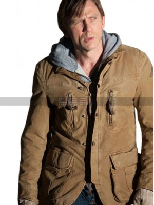 Daniel Craig Dream House Will Atenton Brown Cotton Jacket