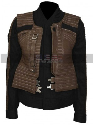 Star Wars Rogue One Jyn Erso Cotton Vest Jacket Costume