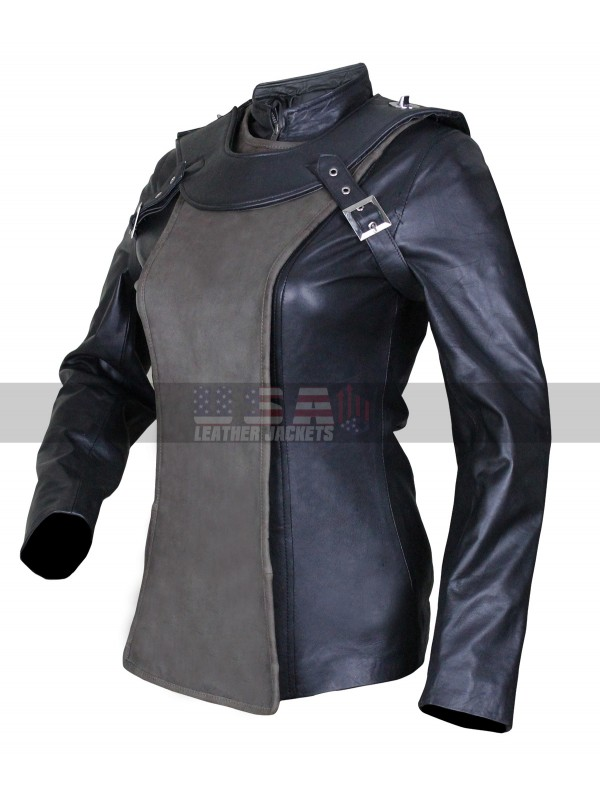 Sky Captain and World of Tomorrow Franky Cook Costume Leather Jacket