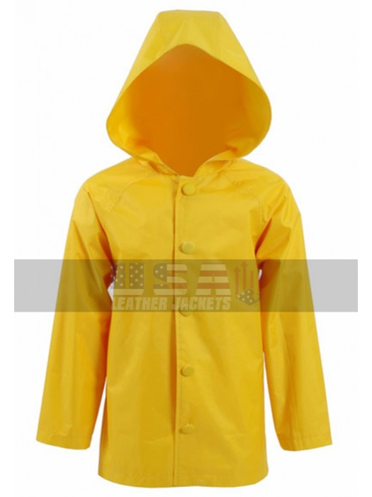 Stephen King IT Georgie Denbrough Yellow Raincoat Jacket