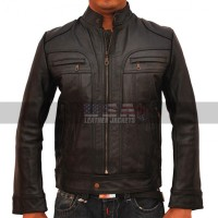 Ghosts of Girlfriends Past Connor Mead Black Leather Jacket