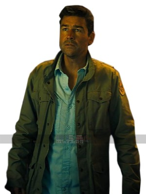 Godzilla King of the Monsters Kyle Chandler	Cotton Green Jacket