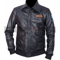 The Great Escape Steve McQueen Black Bomber Leather Jacket