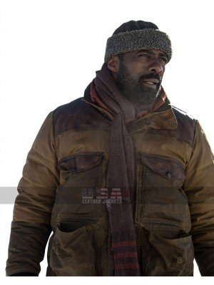 The Mountain Between Us Ben Bass Brown Leather Jacket