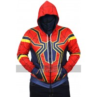 Iron Spider Man Avengers Infinity War Hooded Costume Jacket