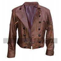 Aquaman Jason Momoa (Arthur Curry) Brown Leather Jacket
