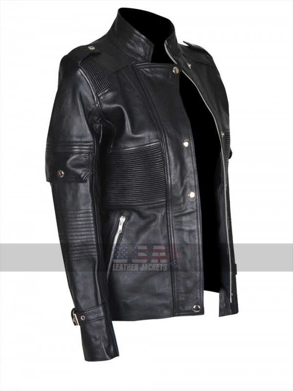 Ghostbusters Answer the Call Kate McKinnon Black Leather Jacket
