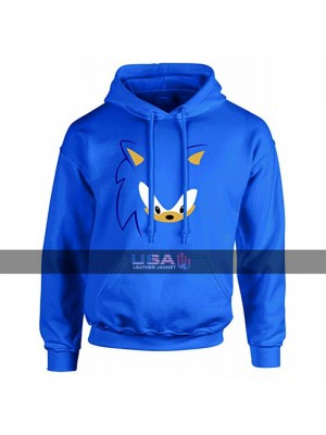 Unisex Sonic The Hedgehog Cosplay Costume Hoodie