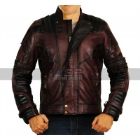 Avengers Infinity War Chris Pratt (Star Lord) Leather Costume Jacket