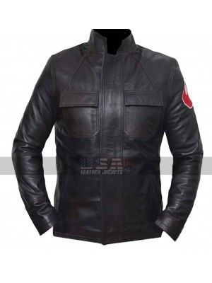 Oscar Isaac Star Wars The Last Jedi Leather Jacket