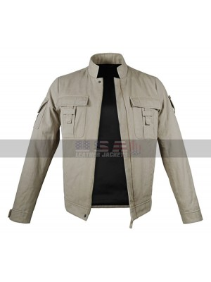 Star Wars Luke Skywalker (Mark Hamill) Beige Cotton Jacket